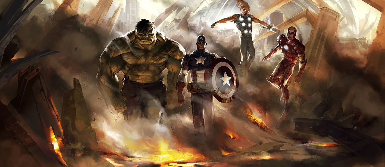 Avengers by =Manarama
