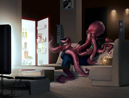 Octopus by ChristianNauck