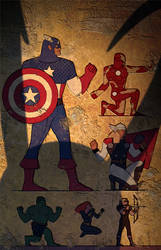 Egypt Avengers by ChristianNauck