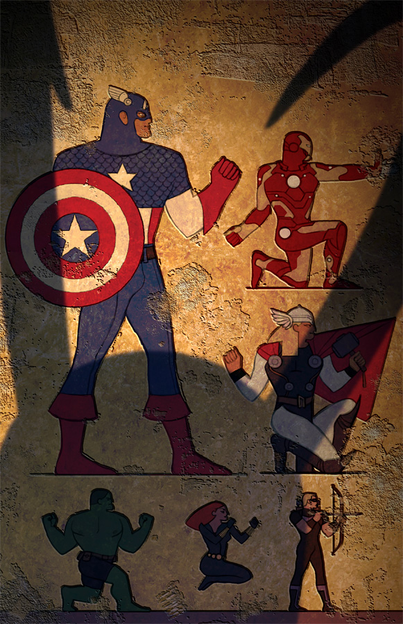 Egypt Avengers by ChristianNauck