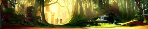 Hidden Forest concept by ChristianNauck