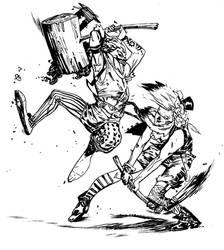 Clown Wars by ChristianNauck
