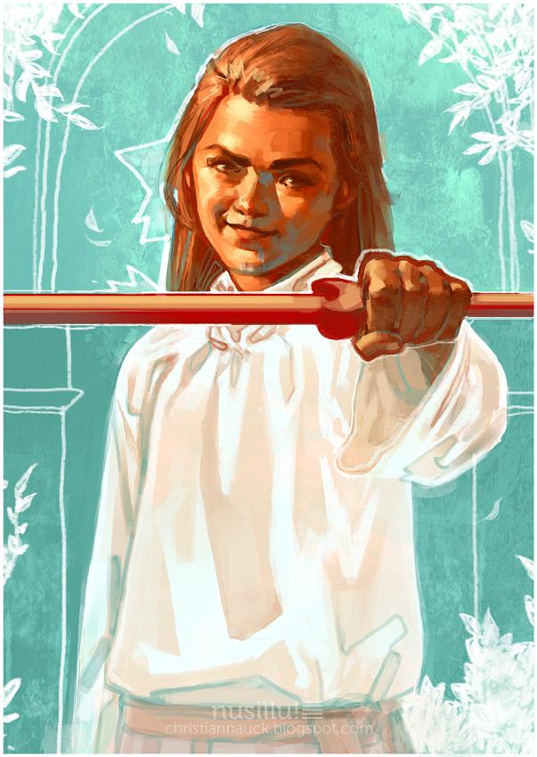 Game of Thrones - Arya Stark by ChristianNauck