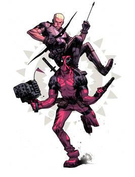 Hawkeye n Deadpool #2
