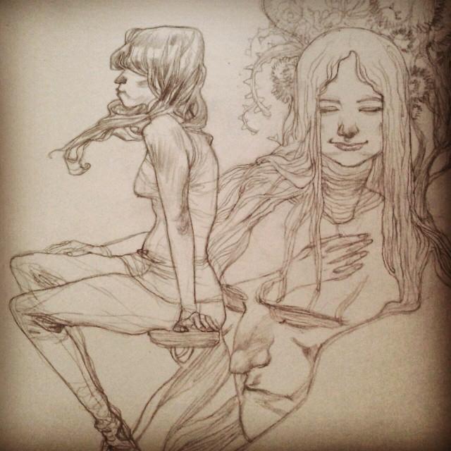 Sketchbook #01 by ChristianNauck