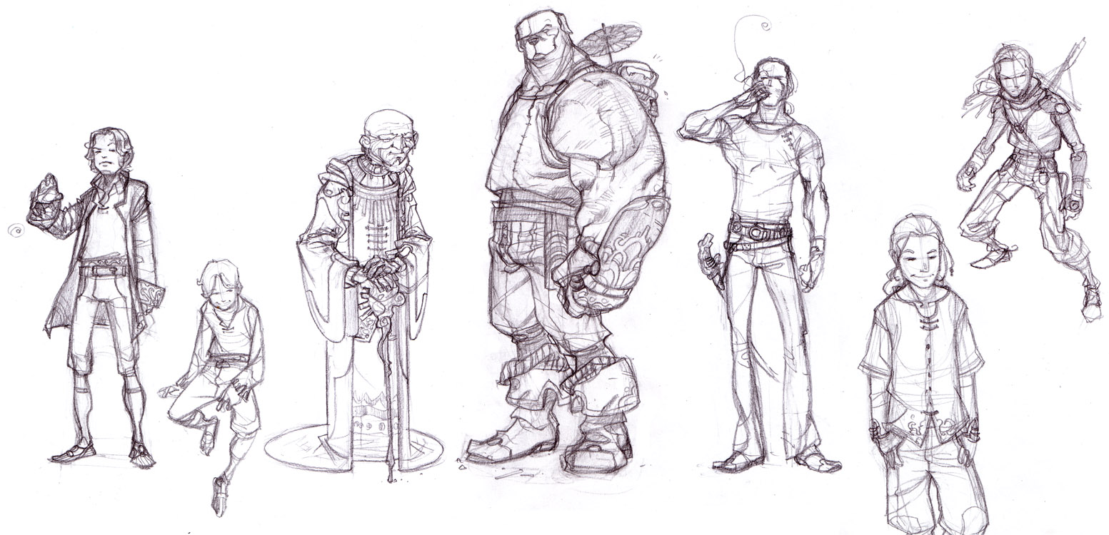 WL 3 chara concepts p.2 by ChristianNauck