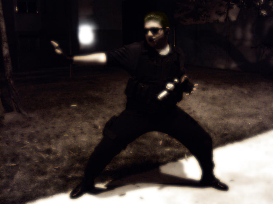 my cosplay wesker by crisnemesis on deviantart