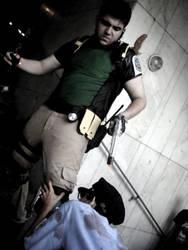 killing the zombie RPD by Cris-Nemesis