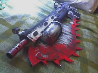 Lancer Gears of War by Cris-Nemesis