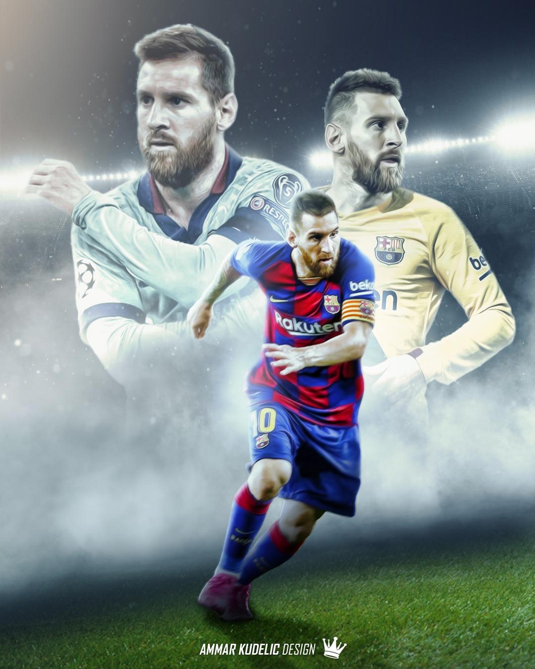 Lionel Messi Fc Barcelona 2020 Edit By Ammarkudelic Design On Deviantart