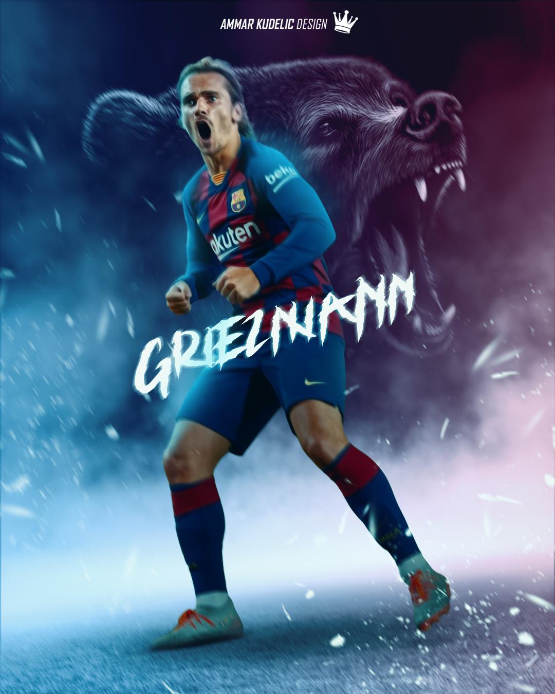 Griezmann Fc Barcelona 2019 20 Edit By Ammarkudelic Design On Deviantart
