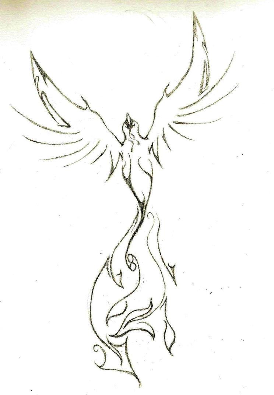 Tattoo Idea Phoenix 1 By Falcon01733 On DeviantArt