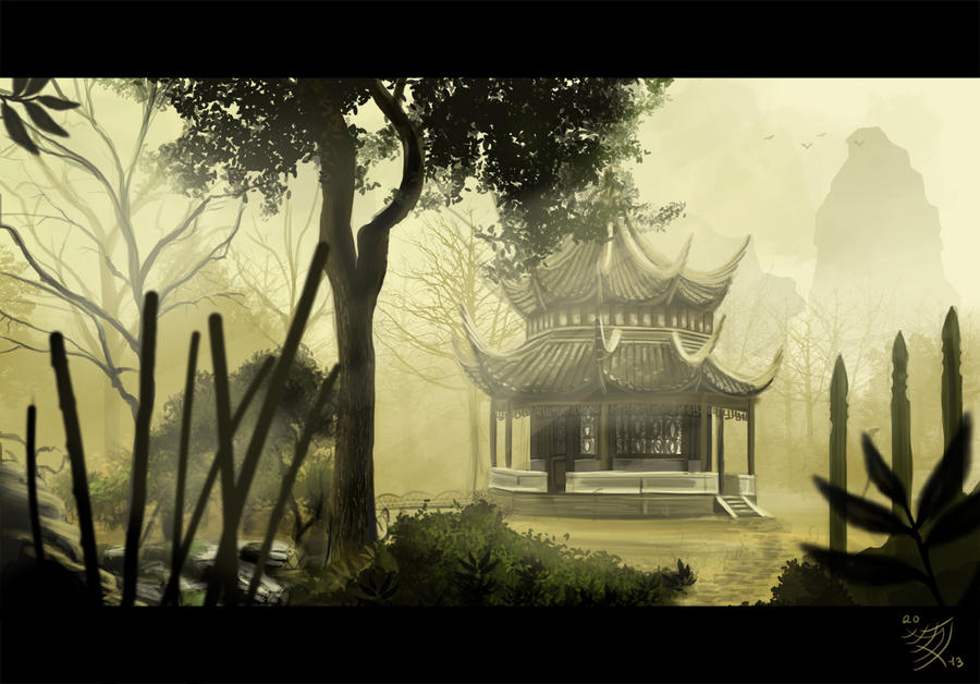 temple garden by chrispydee - Temple Garden