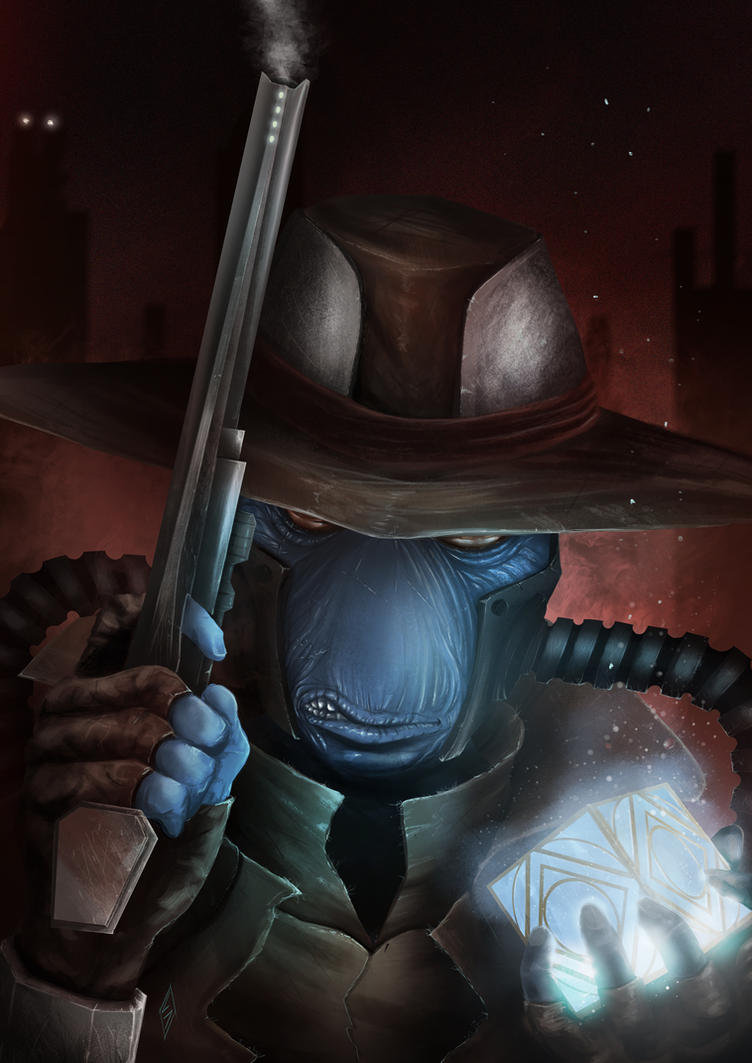 Cad Bane by ChrispyDee