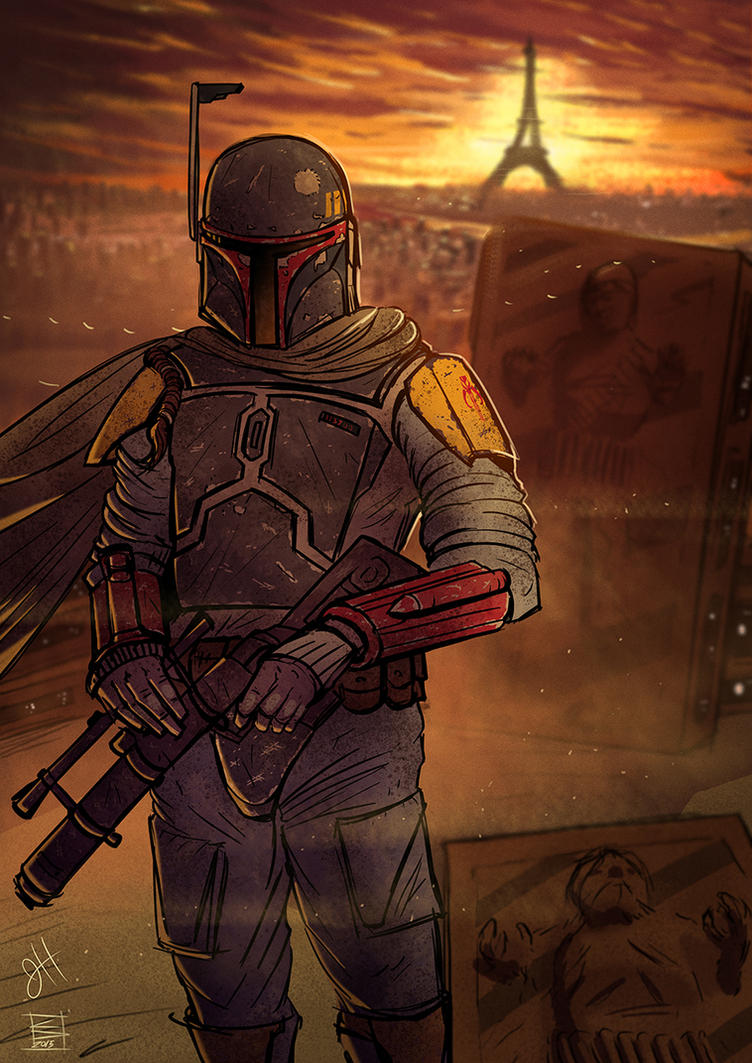 Fett vs Isis by ChrispyDee