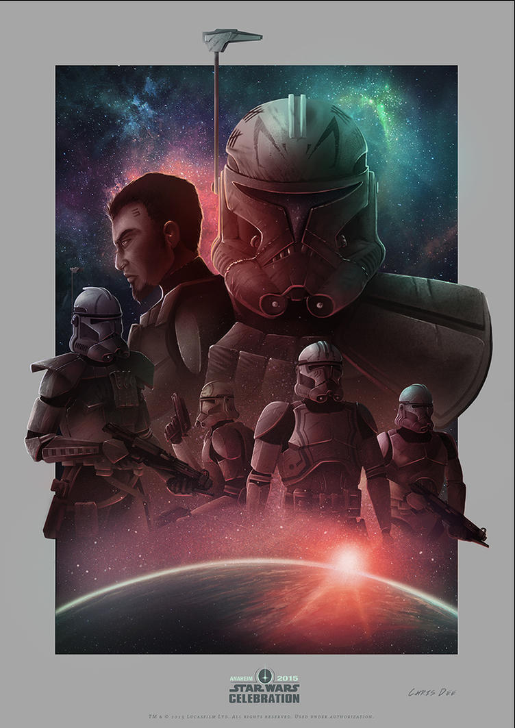 Heroes of the 501st (Celebration Anaheim) by ChrispyDee