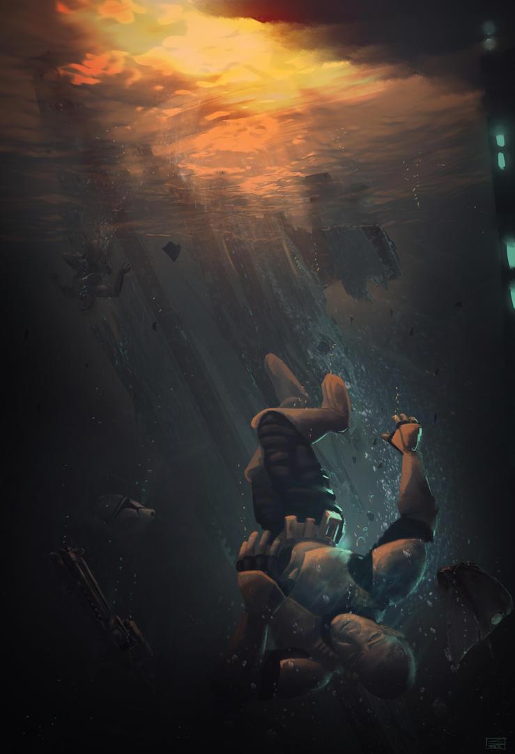 Drowning Retirement by ChrispyDee