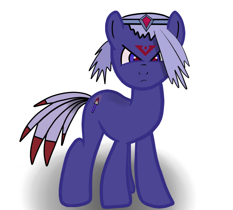 MLP PONY OC - Dusk Arrow by TazzyTazool