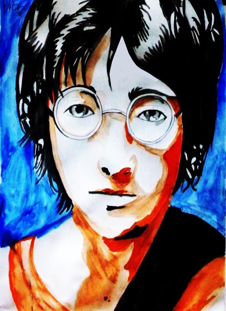 John Lennon by Definate-Maybe567