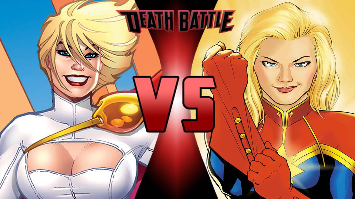 Power Girl vs Carol Danvers by Br3ndan5 on DeviantArt