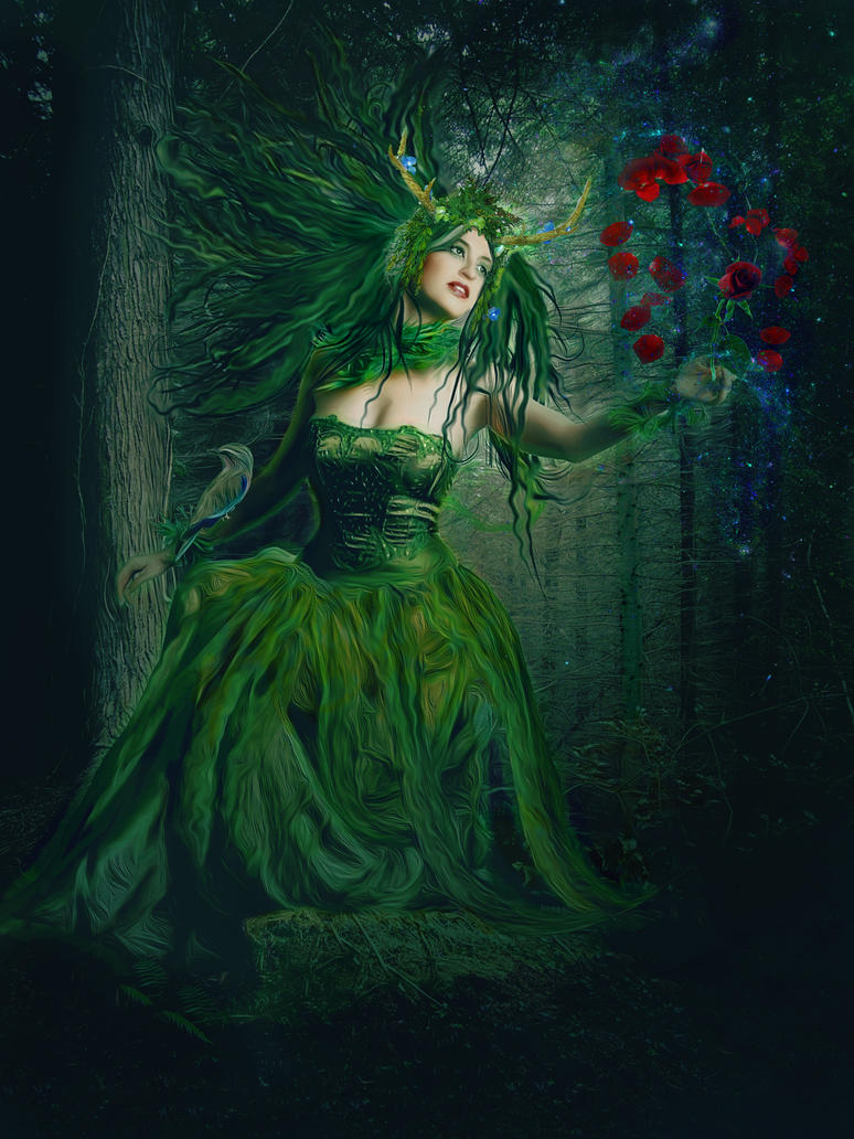 Mistress Of The Forest by kelseyyyykels