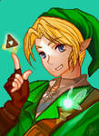 Link Triforce PixelArt