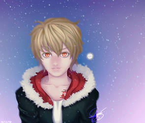 Yukine Winter Noragami by MinteeGhost