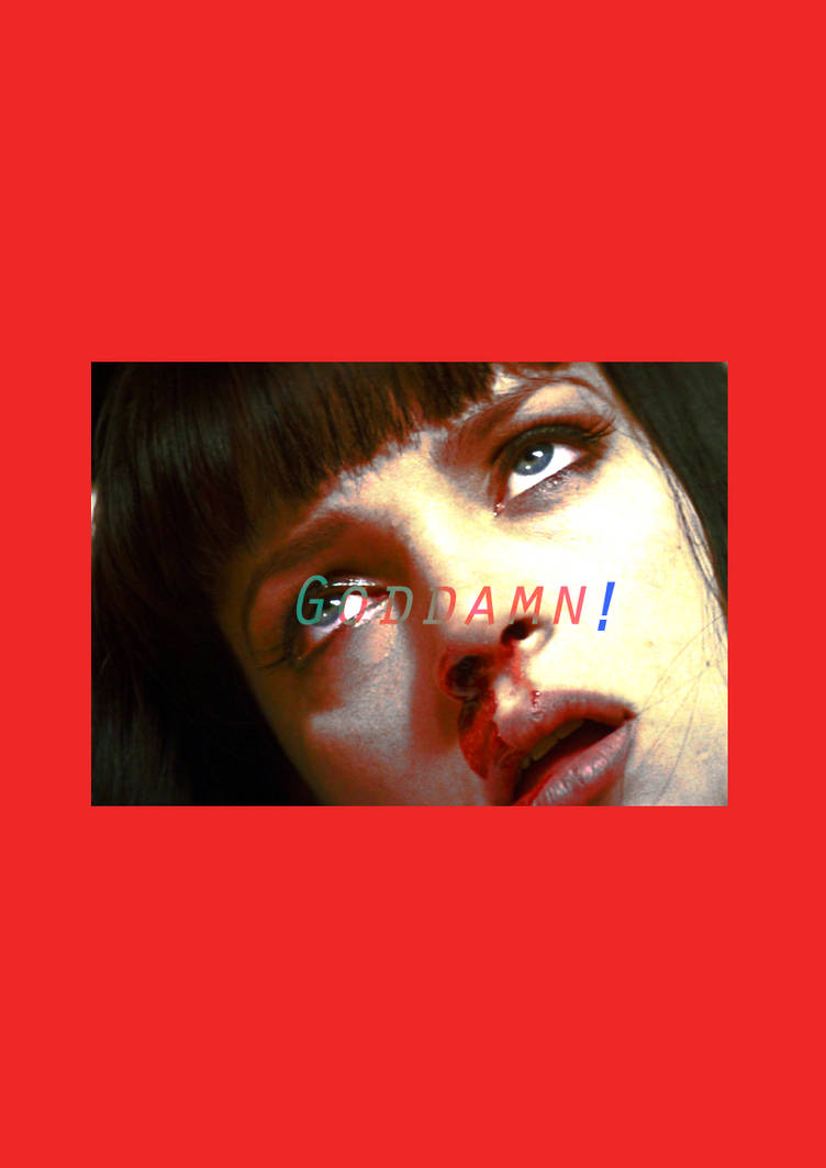 God Damn! Mia Wallace (Pulp Fiction Edit) by MinteeGhost