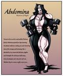 Abdomina Mistress of Might