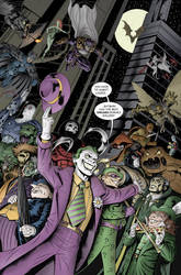 Batman's Rogues Gallery by Buzz-On