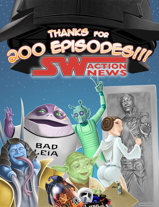 Star Wars Action News Card by Buzz-On