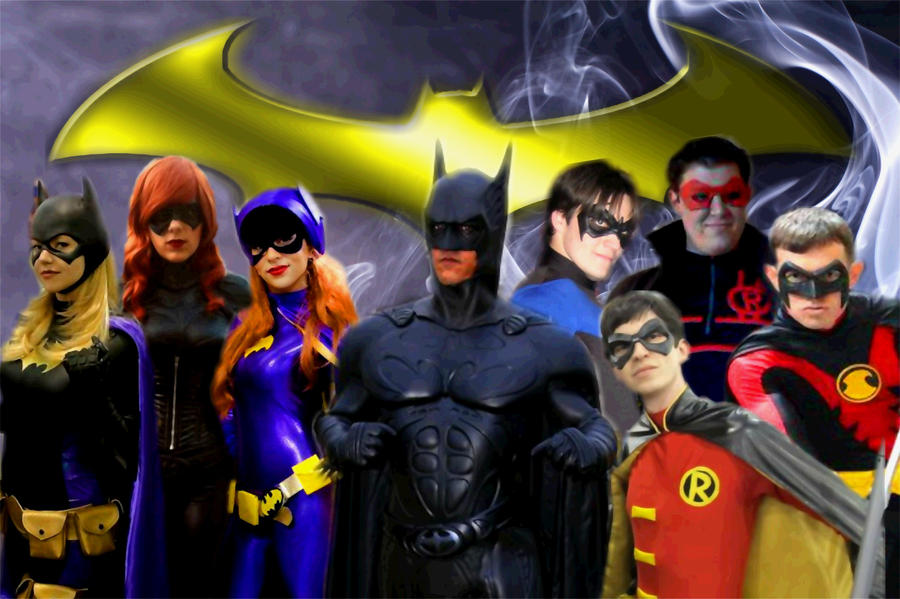 The Bat-Family by Cadmus130