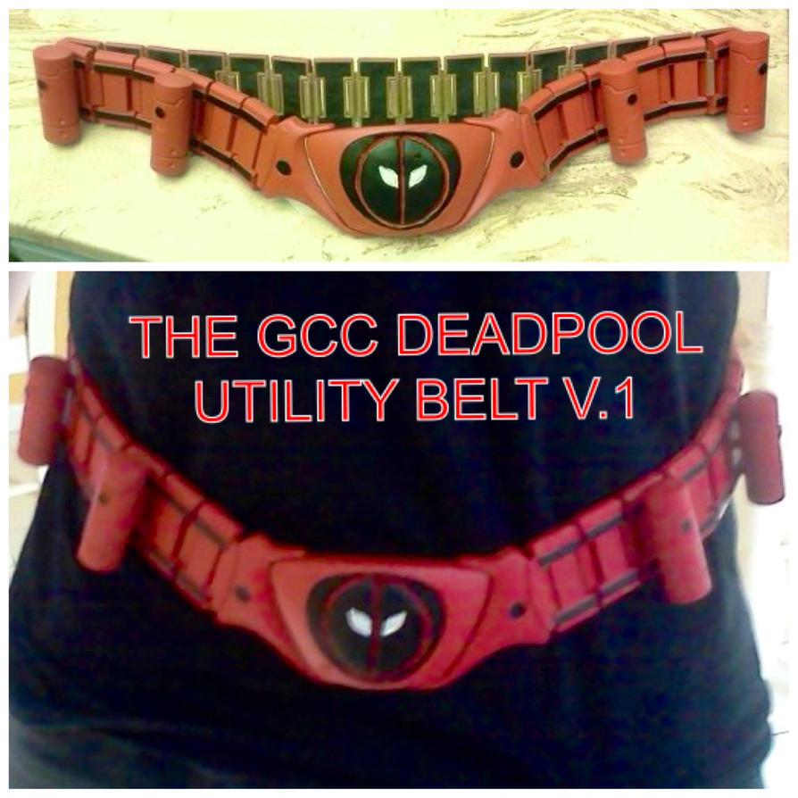 GCC Deadpool Utility Belt 2 by Cadmus130