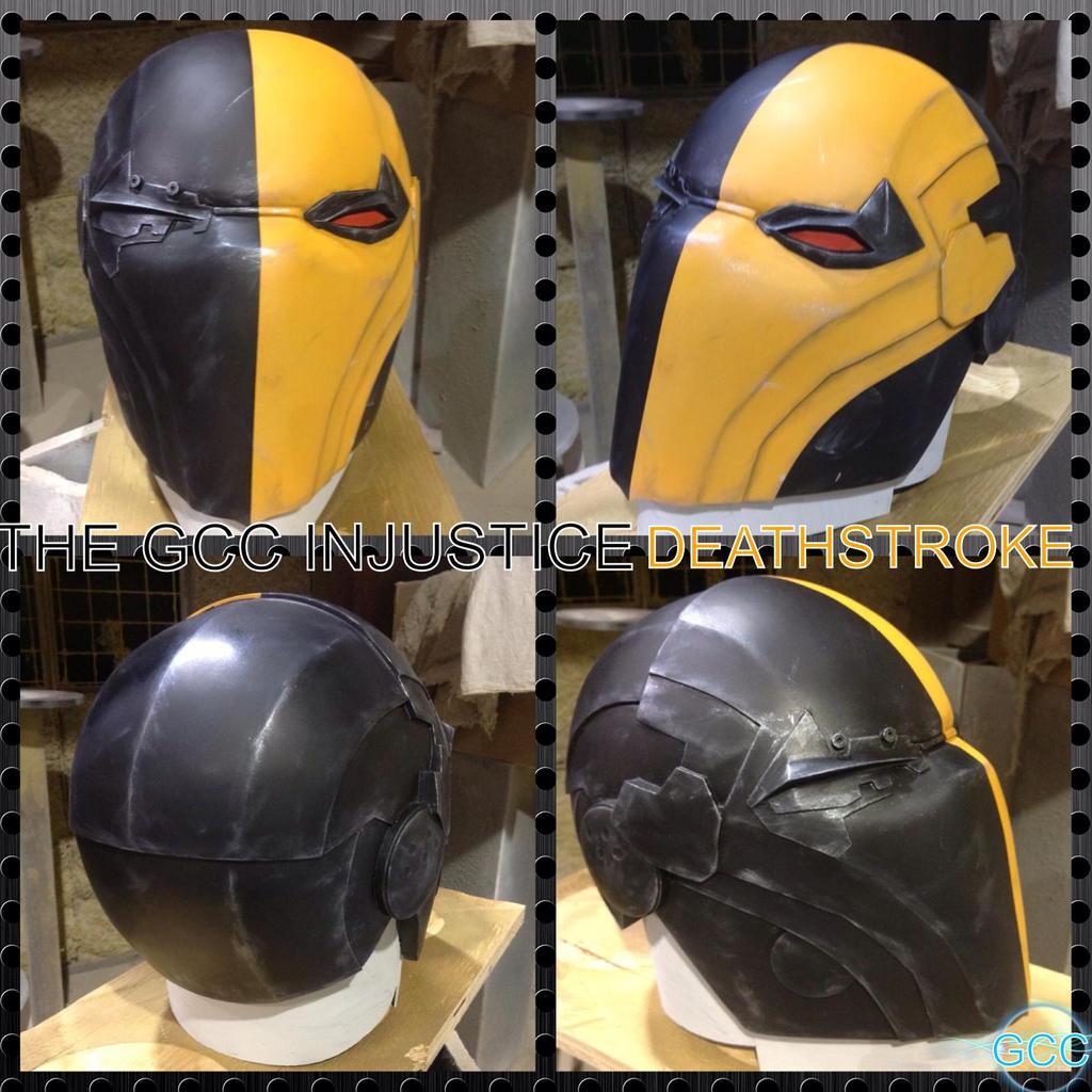 deathstroke helmet injustice - photo #1
