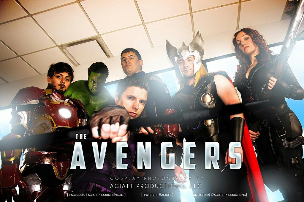 AVENGERS ASSEMBLE!! by Cadmus130