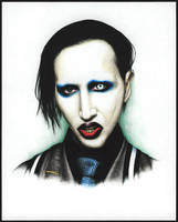 Marilyn Manson by The-Russian