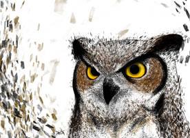 Owl by AjArtFx
