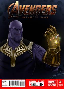 MCU Infinity War Variant Cover