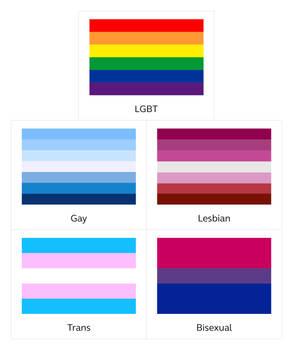 LGBT Flags (short)