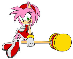 Amy Rose is Here! by NeonTH