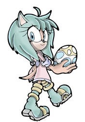 Pastel the Hedgehog by NeonTH