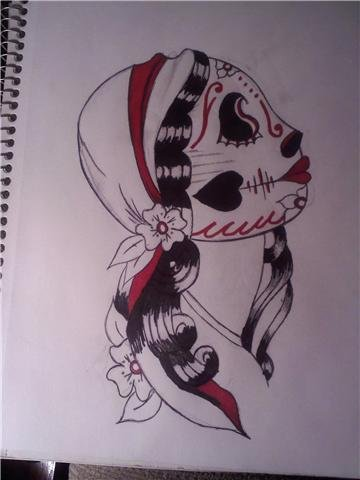 day of the dead masks. Day of the dead mask by