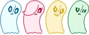 Undertale - Ghosts
