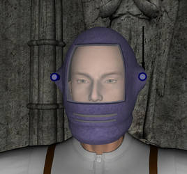 M3 Sci Helm in DAZ by SiathLinux