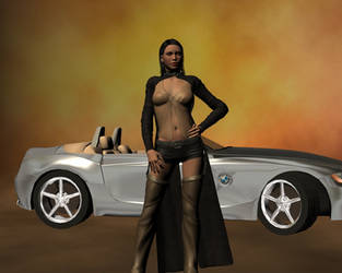 Domino and BMW by SiathLinux