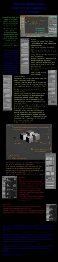 Blender 2.54 Part 1