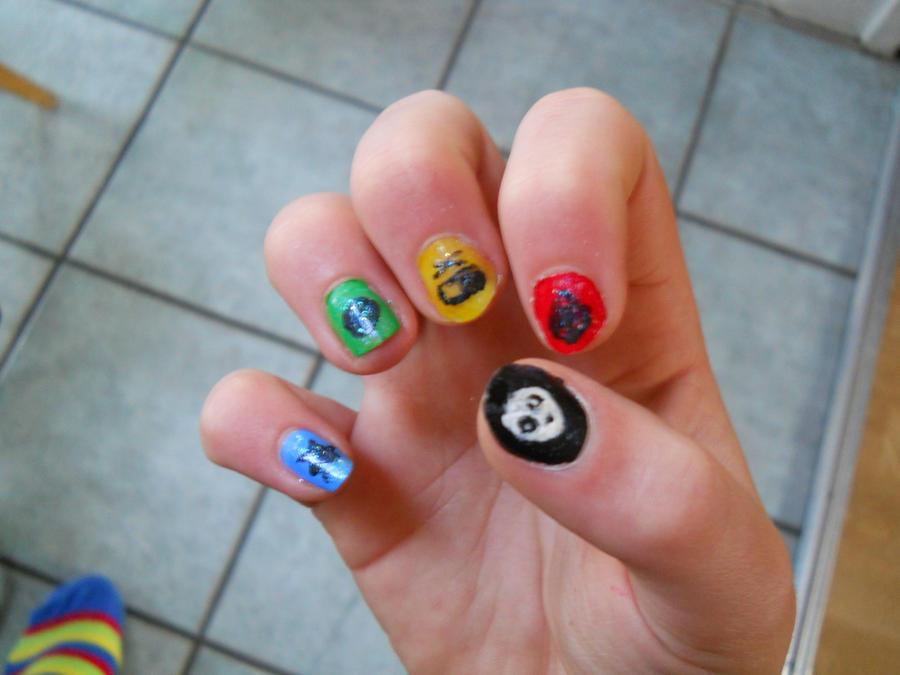Killjoy nail art 2 by CobaltPunk666 on DeviantArt