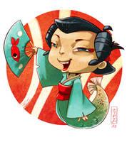 .:Fish_in_kimono:. by Marmottegarou