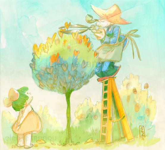 .:L'admiratrice du Jardinier:. by Marmottegarou