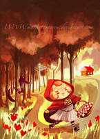 .: Little red ridding hood :. by Marmottegarou